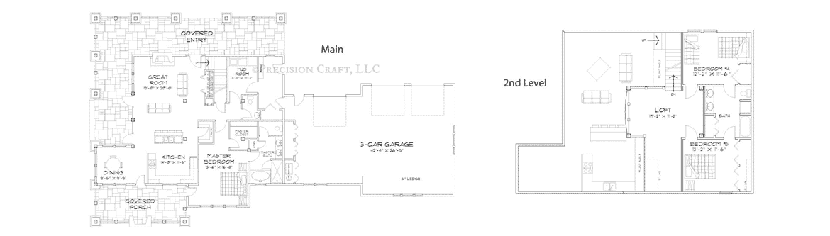 Alderbrook Customization 2 Floor Plan