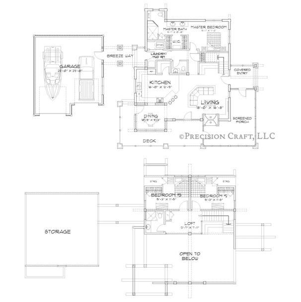 Alderbrook Customization 1 Floor Plan