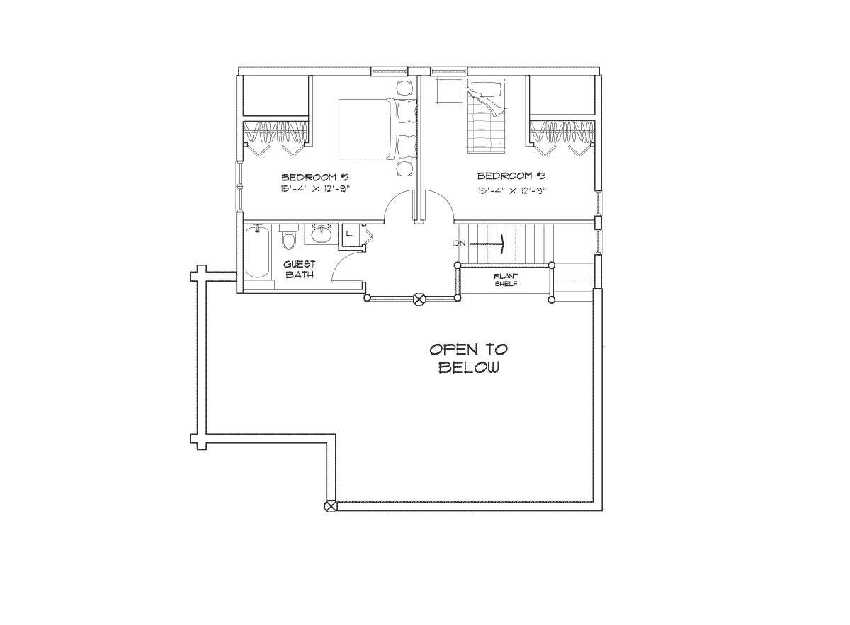 Alberbrook Second Floor Plan