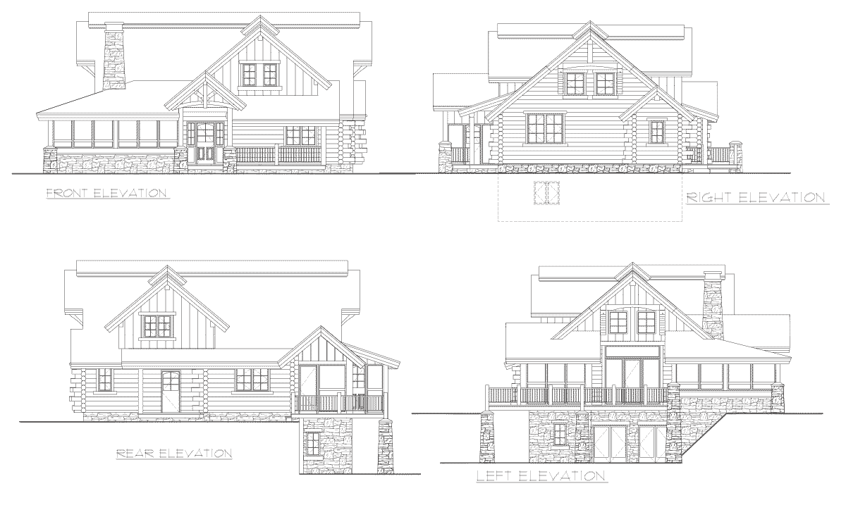 Alderbrook Elevation