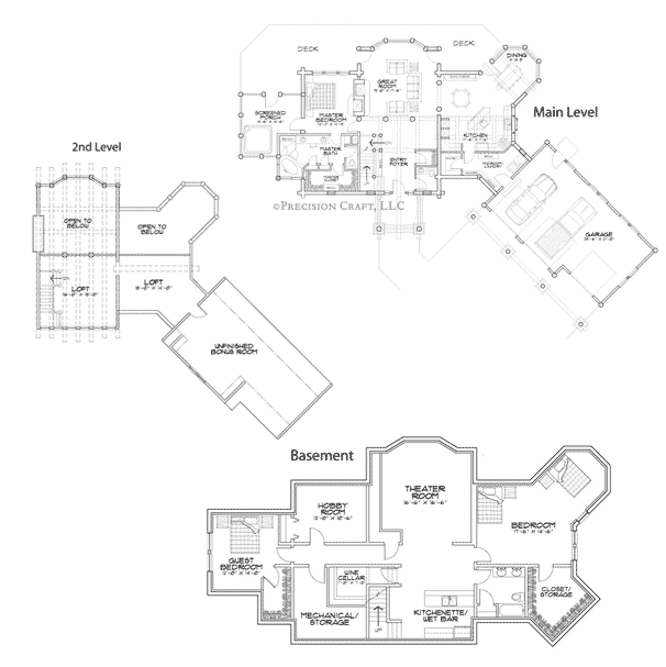 Allegheny Client Customization Floor Plan