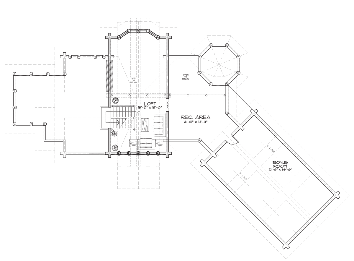 Allegheny Second Floor Plan