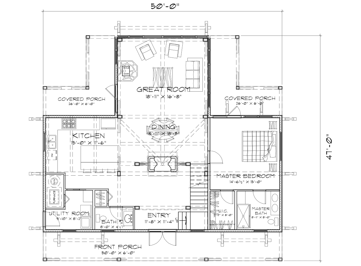 Ashcroft  Main Floor Plan