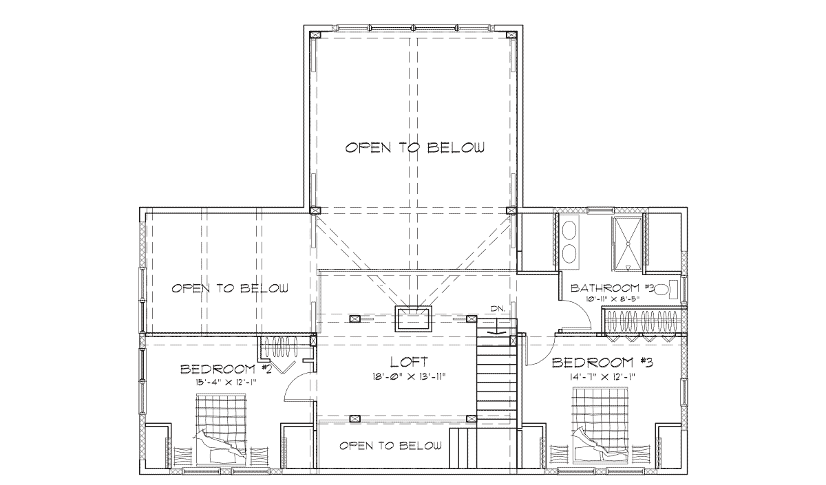 Ashcroft  Second Floor Plan