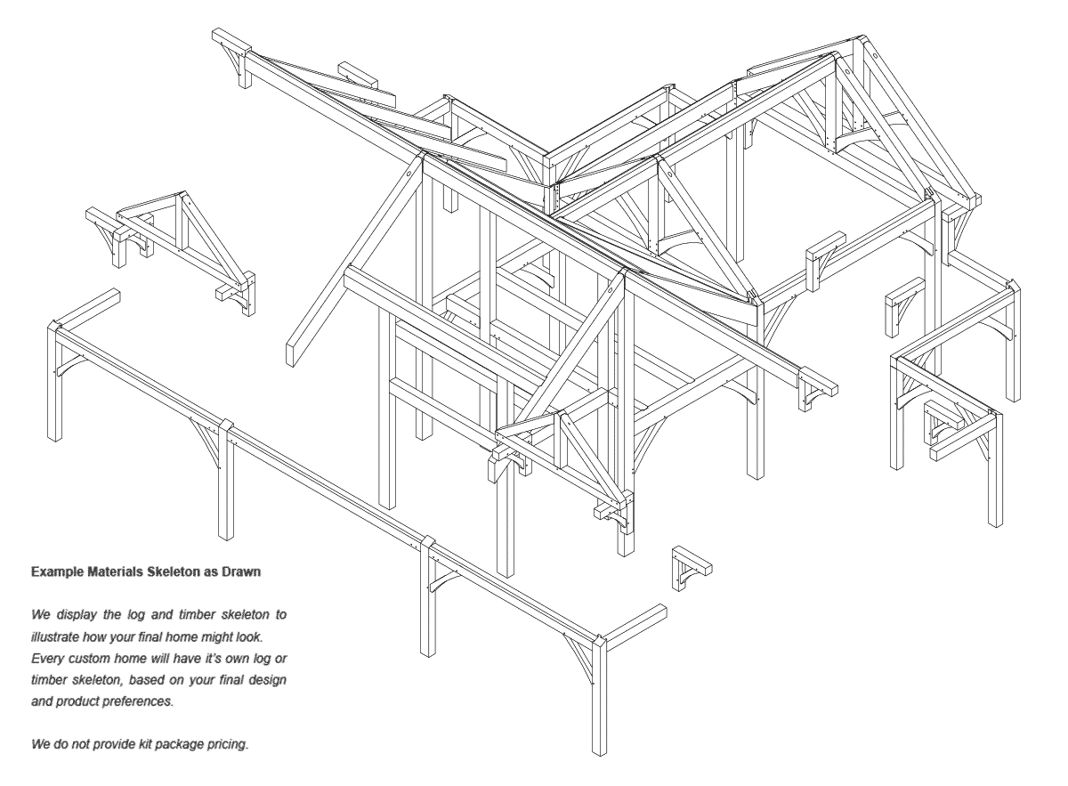 Ashcroft  timber frame Structure