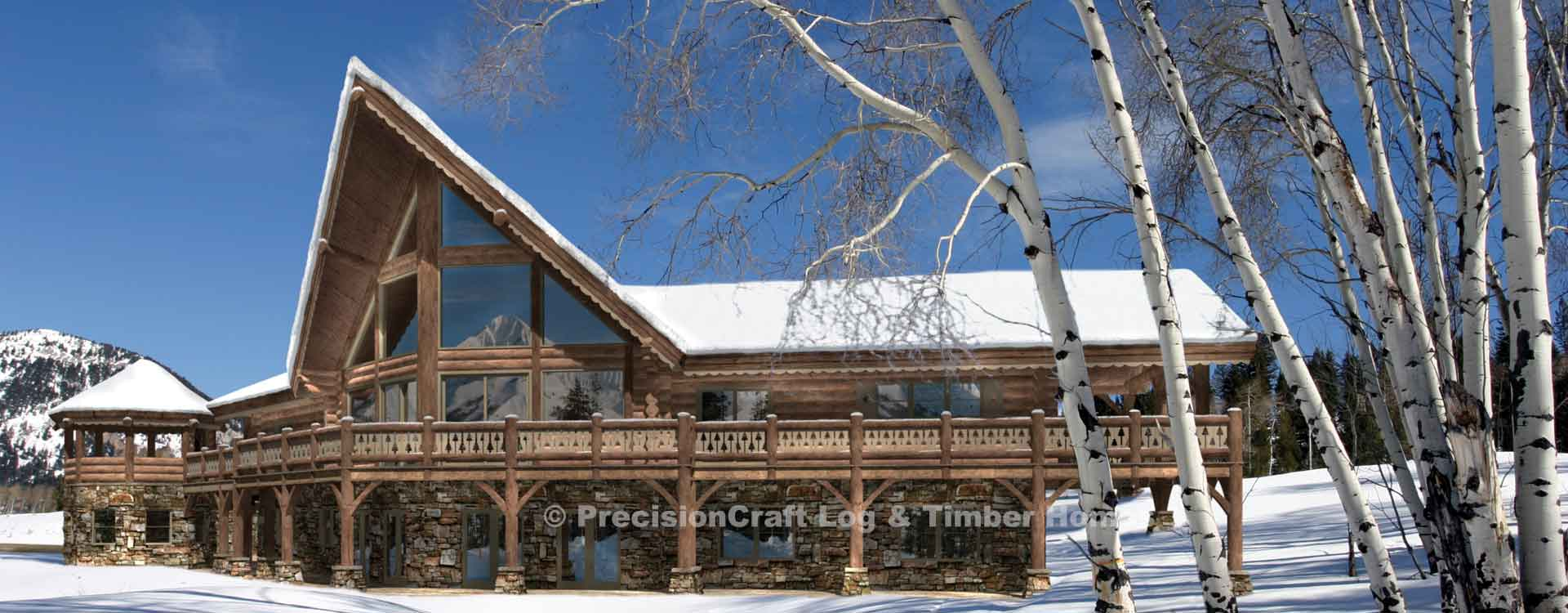 timber frame and log home floor plans by precisioncraft aspen peak log home floor plan