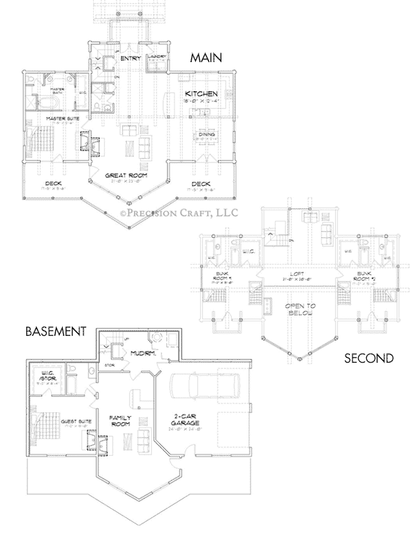 Beartooth Client Customization 3 Floor Plan