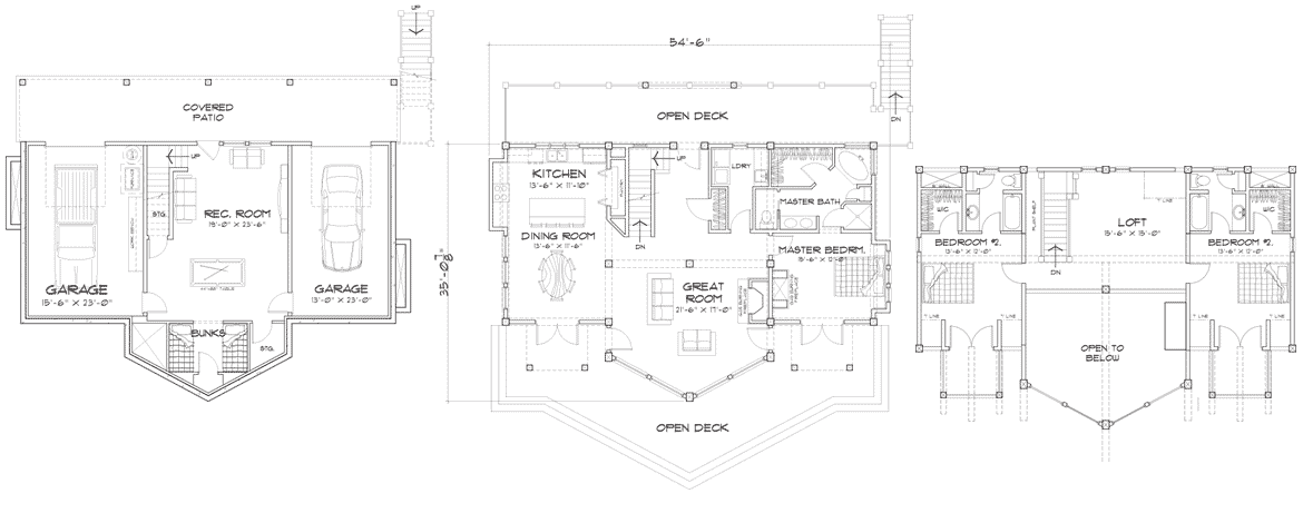 Beartooth Client Customization Floor Plans