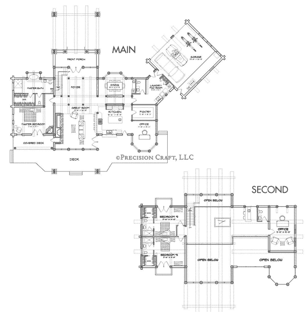 Big Sky Client Customization Floor Plan