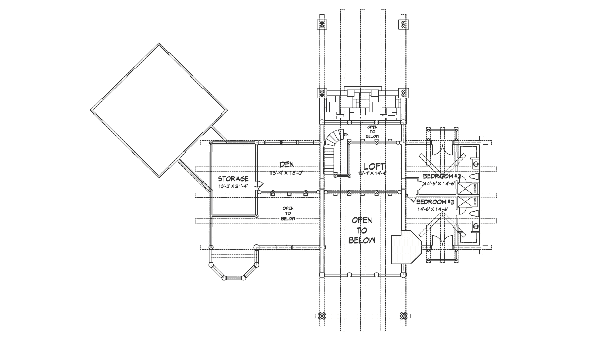 Big Sky Second Floor Plan