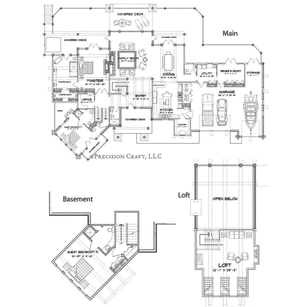 Blue Ridge Client Customization Floor Plan