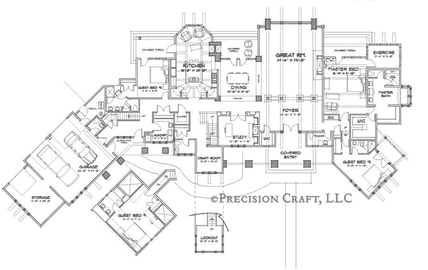 Blue Ridge Client Customization 2 Floor Plan