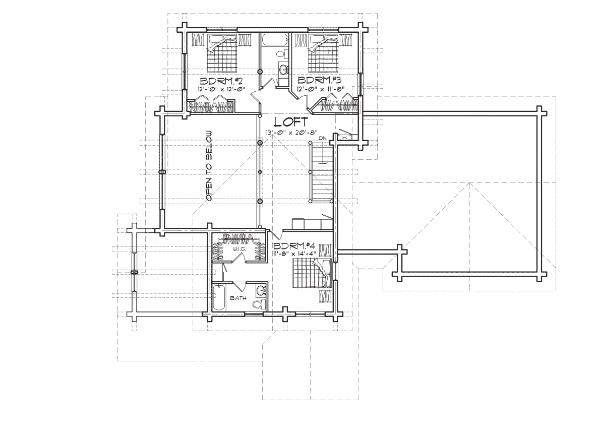 BoiseanSecond Floor Plan