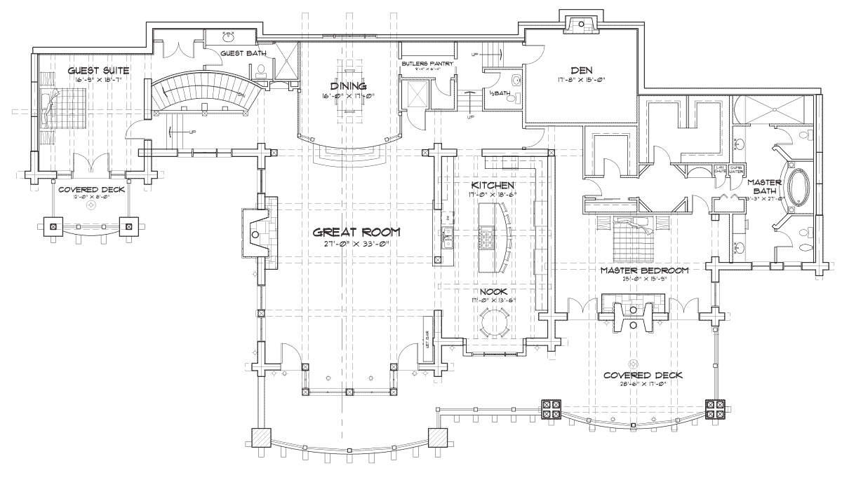 Buffalo Creek Main Floor Plan