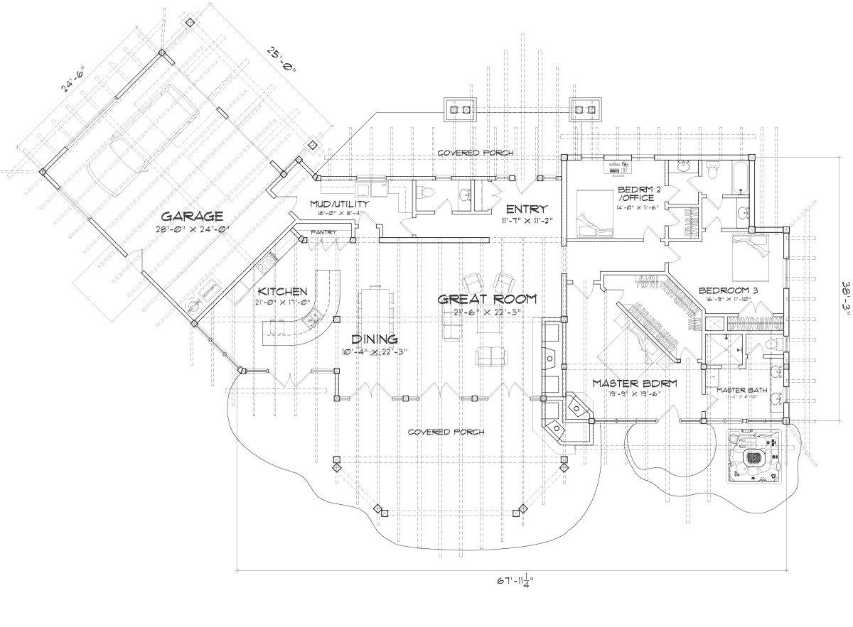 Cascade Main Floor Plan