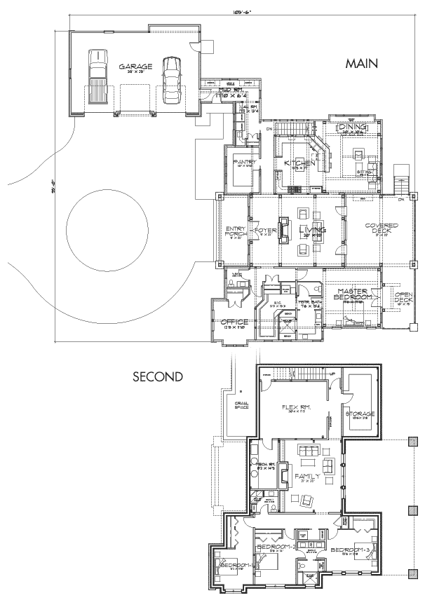 Coeur d'Alene Lodge Customization 3 Floor Plan