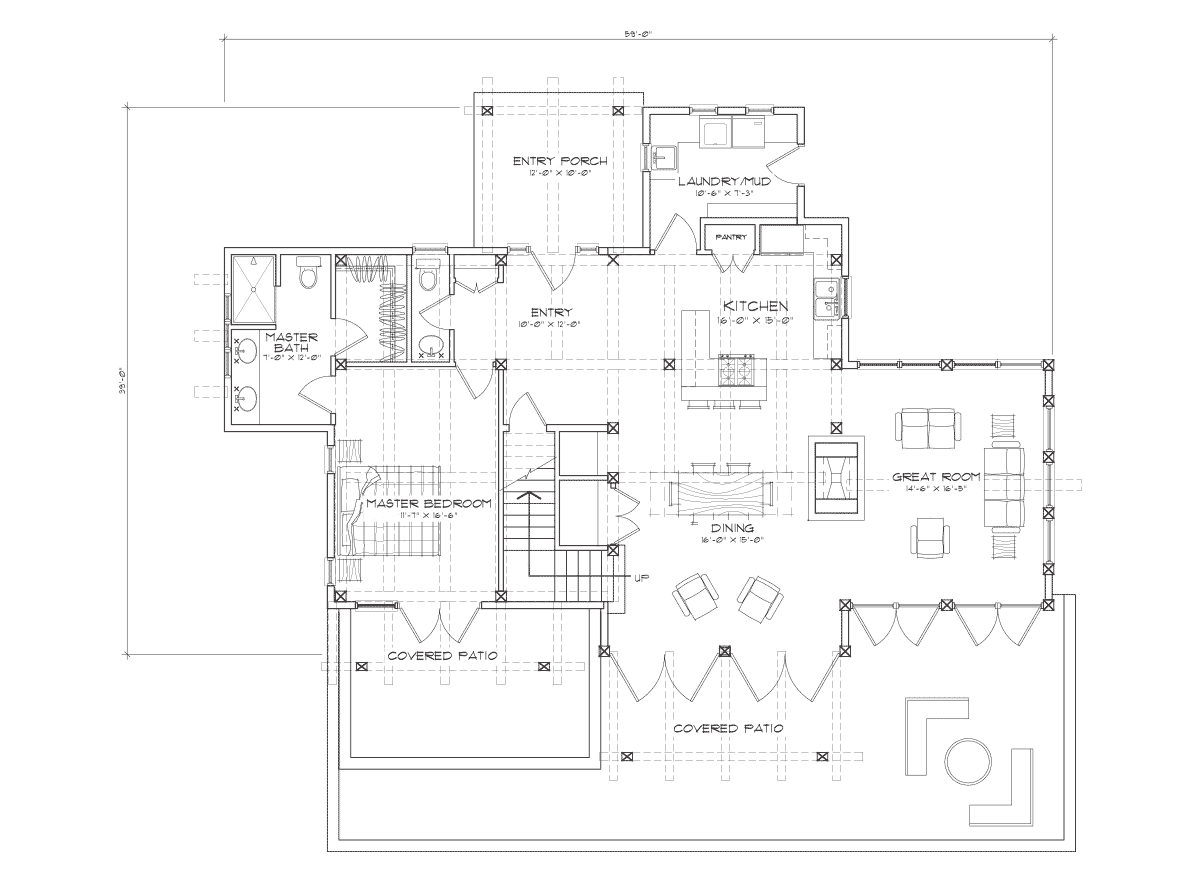 clearwater  Main Floor Plan