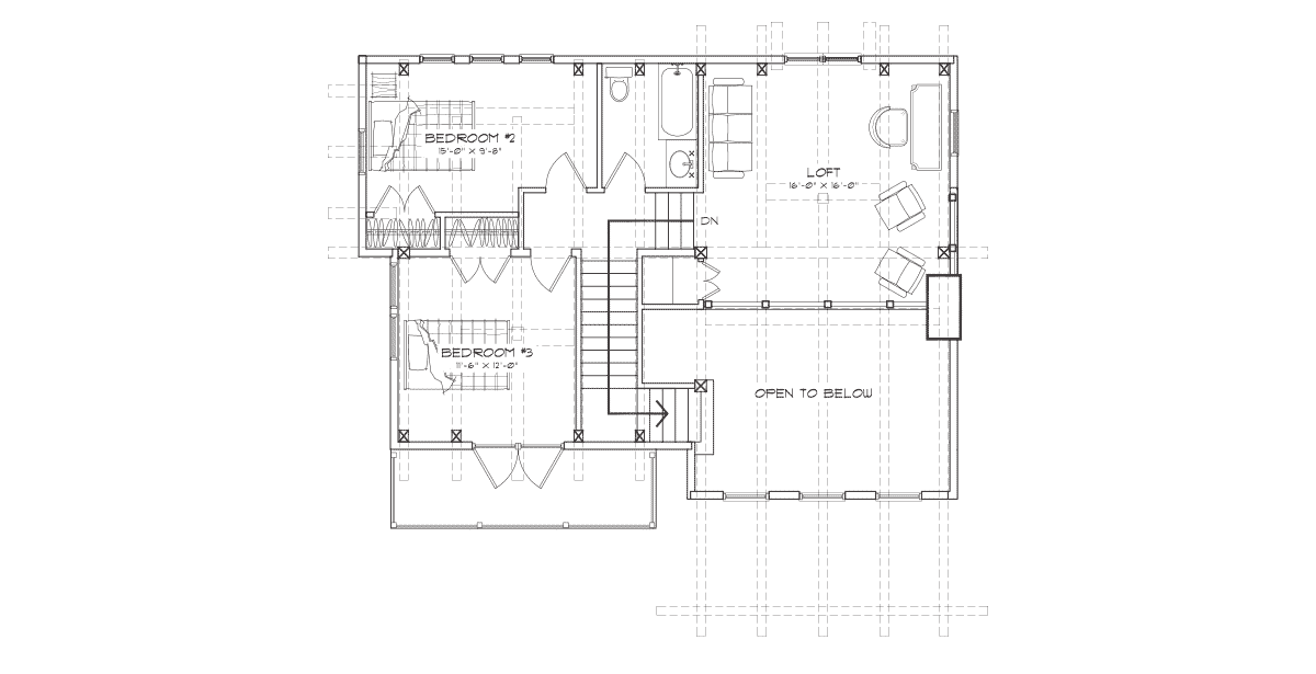 clearwater  Second Floor Plan