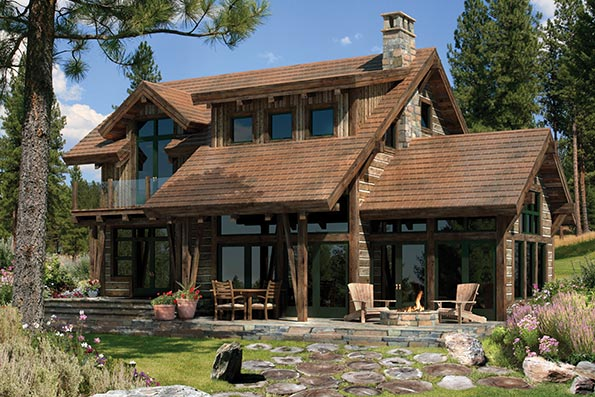 Adirondack Home Plans timber frame and log home floor plans -precisioncraft