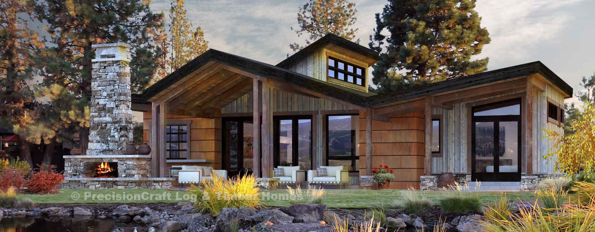Coldwater Single Level Timber Cabin