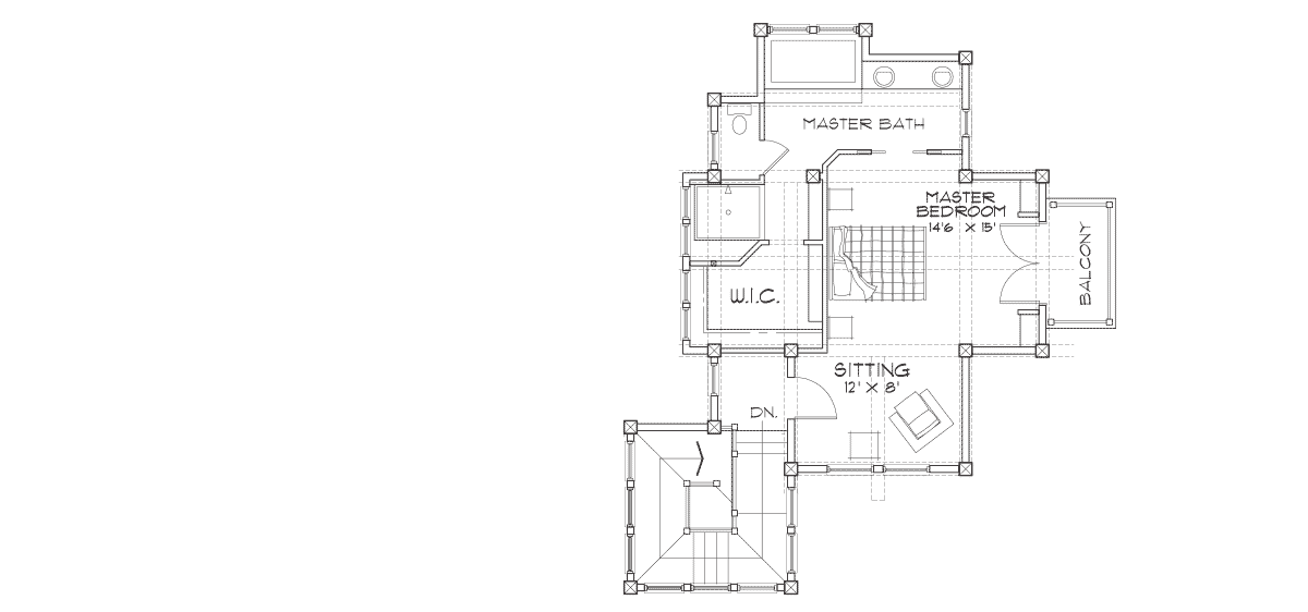 Colorado Second Floor Plan