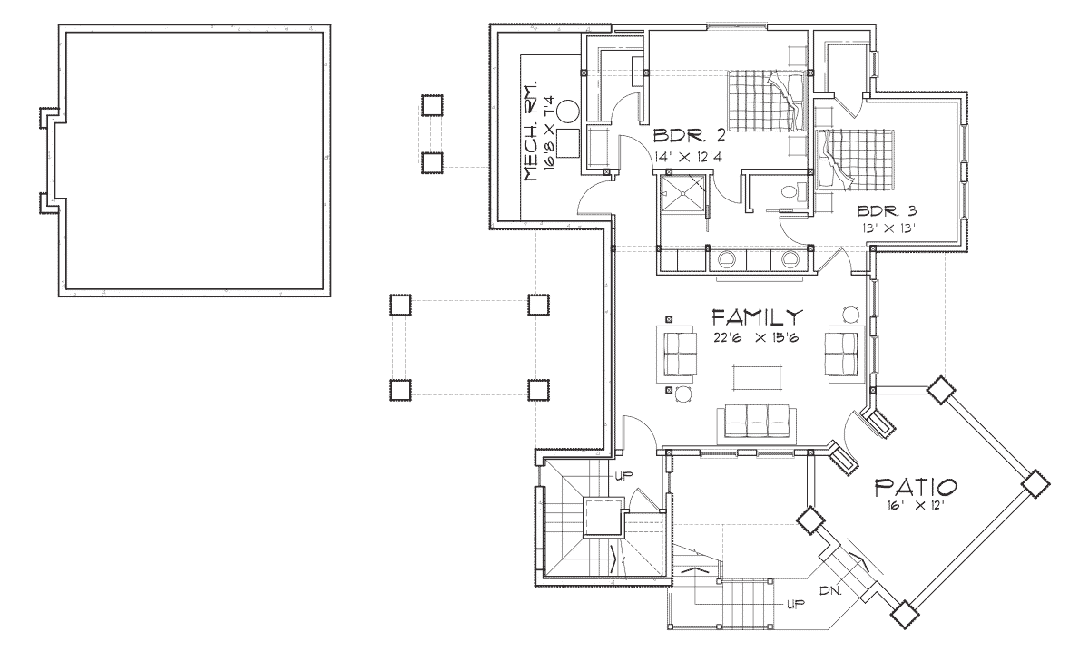 Colorado Basement Floor Plan