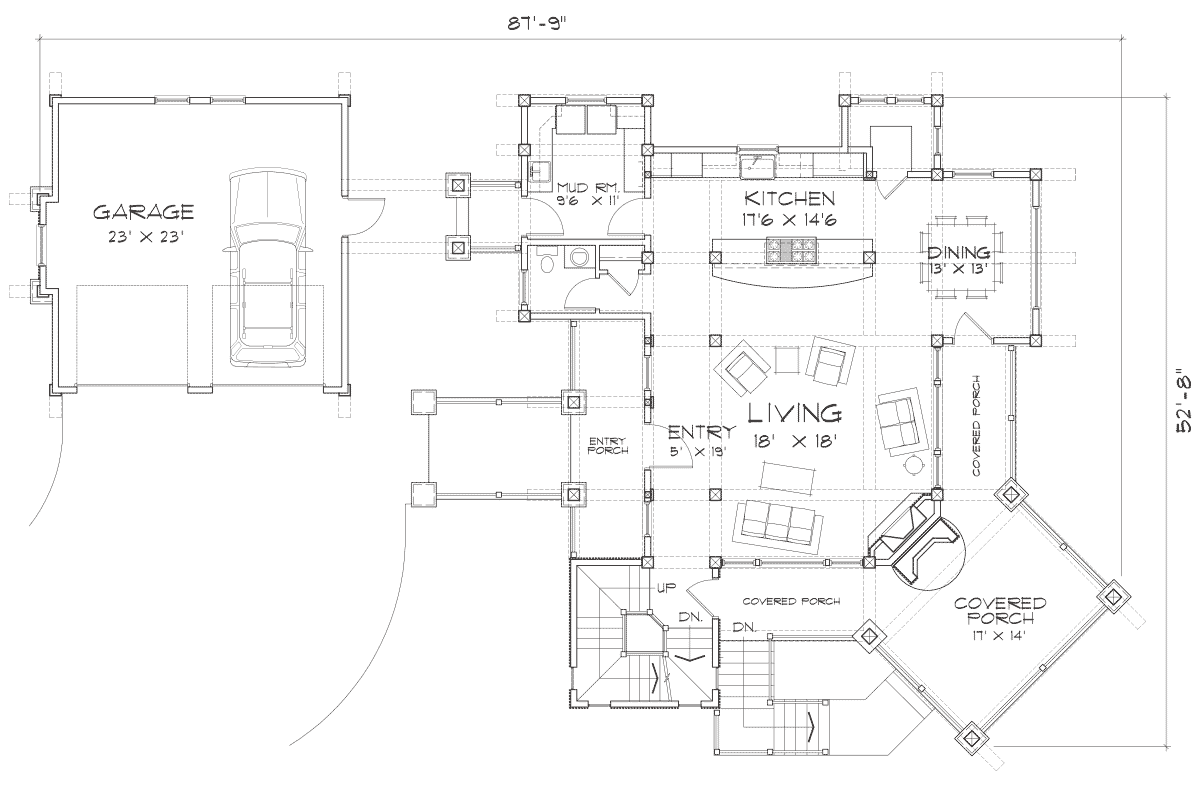 Colorado Main Floor Plan