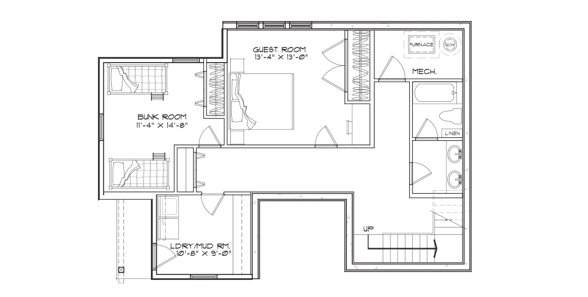 Creekside Basement Floor Plan