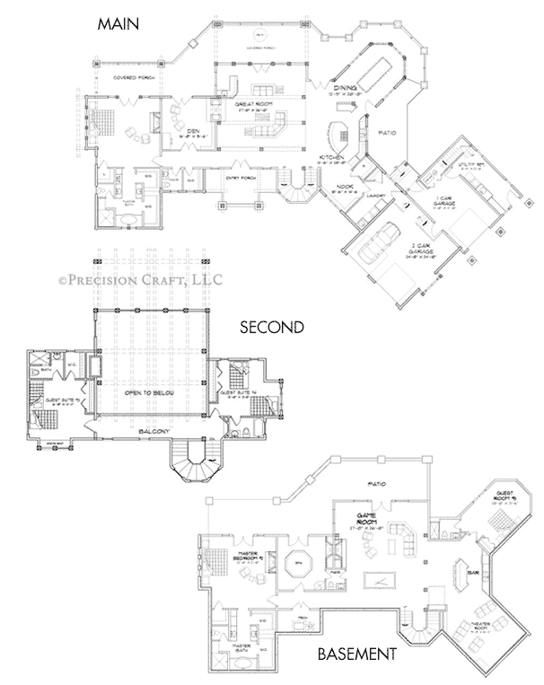 Crested Butte Customization 2 Floor Plan