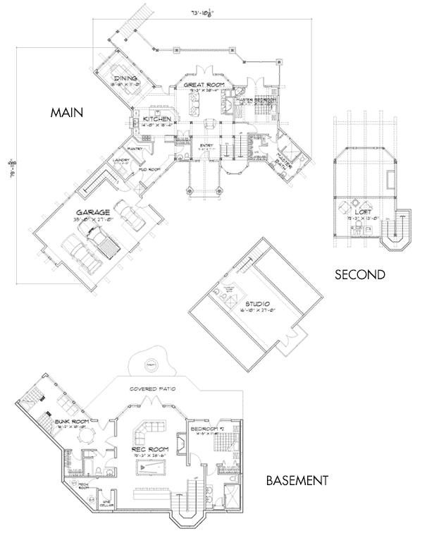 Crested Butte Customization 3 Floor Plan