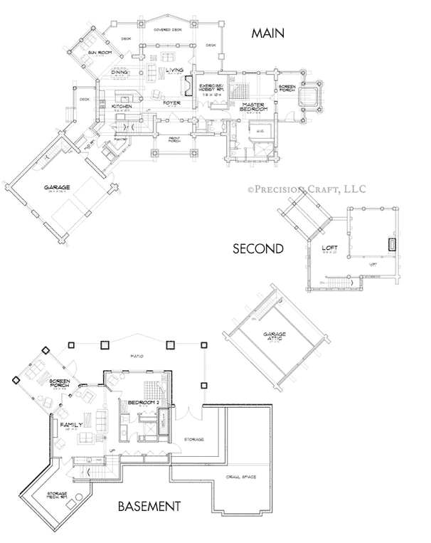 Crested Butte Customization Floor Plan