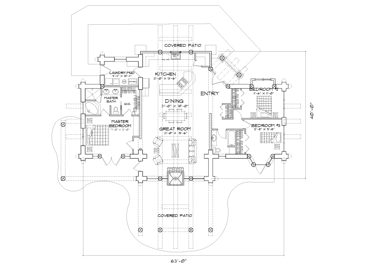 Cumberland Main Floor Plan