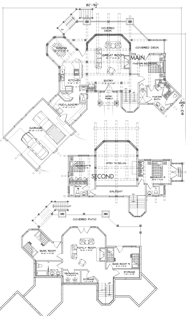 Dakota Customization 2 Floor Plan