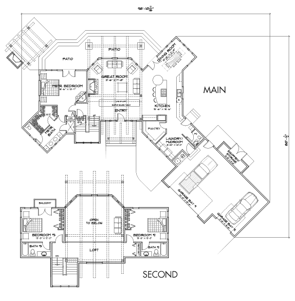 Dakota Customization 1 Floor Plan