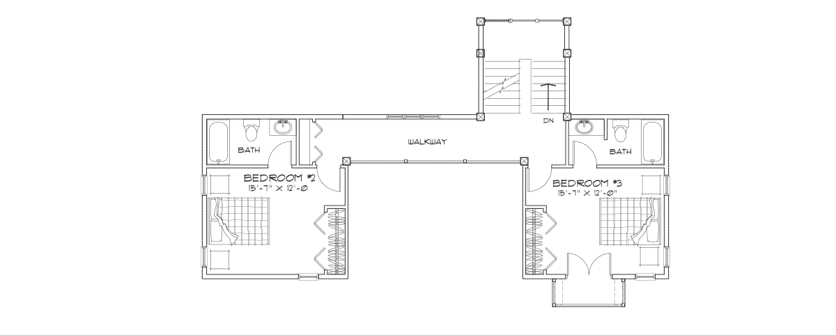 Dakota Second Floor Plan