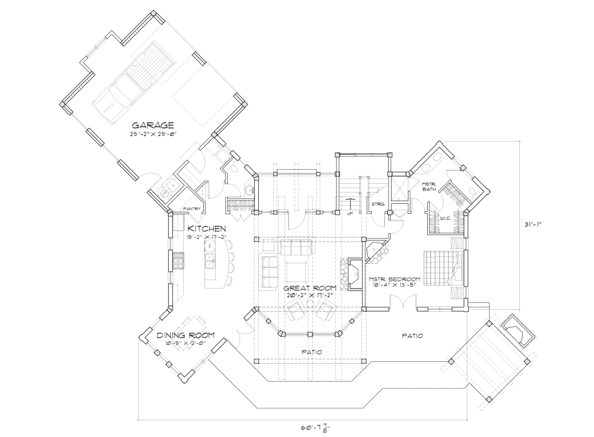Dakota Main Floor Plan