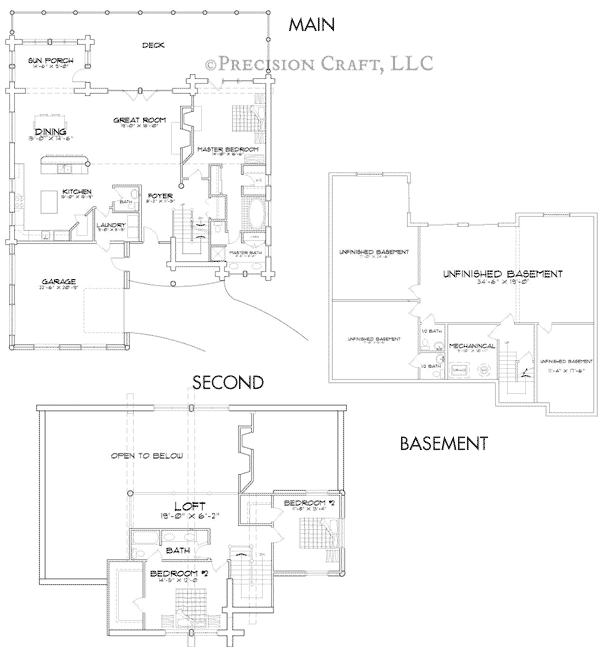 Deer Valley Customization Floor Plan
