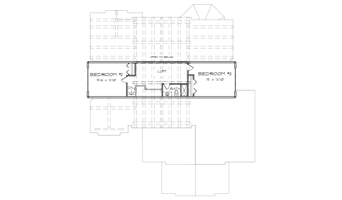 Deer Valley Second Floor Plan