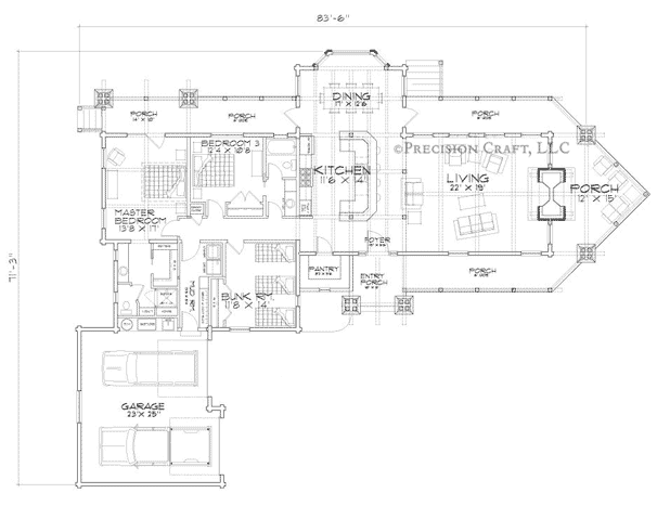 Eagle's Nest Customization 2 Floor Plan