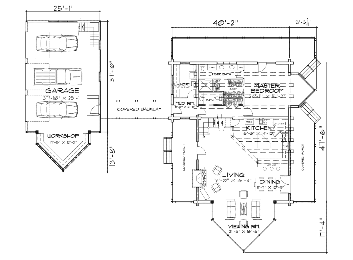 Edgewood Main Floor Plan