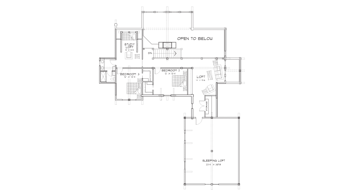 Foxpoint Second Floor Plan