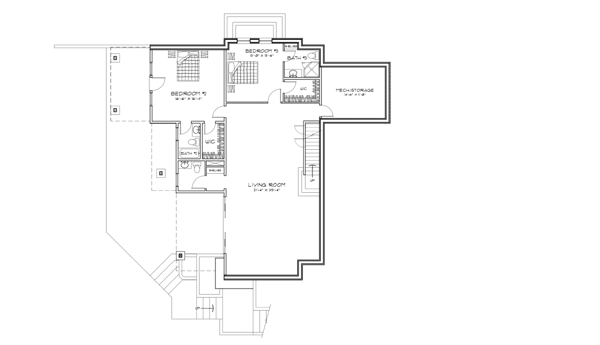 Hailey Second Floor Plan