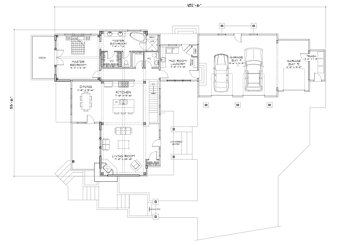 Hailey Main Floor Plan