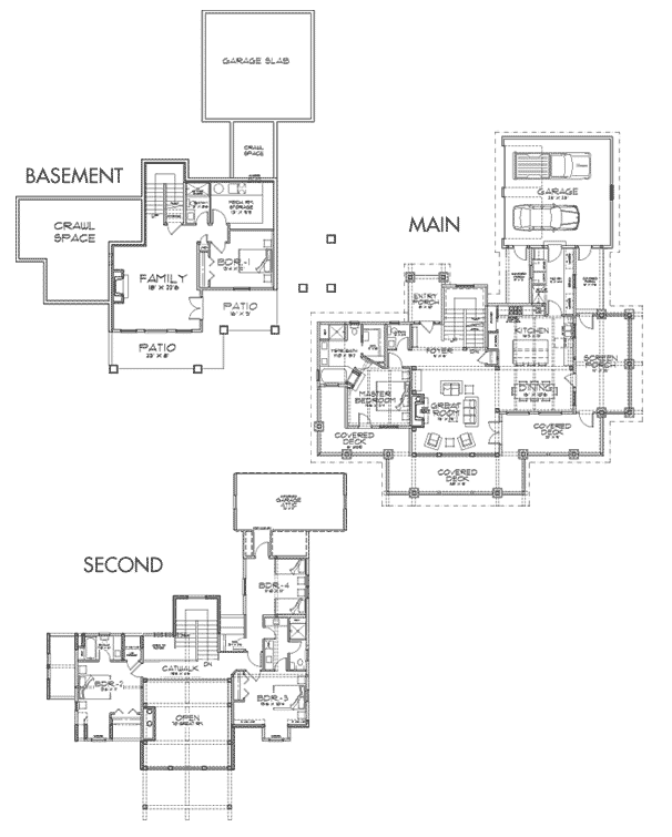 Hawksbury Client Customization Floor Plan