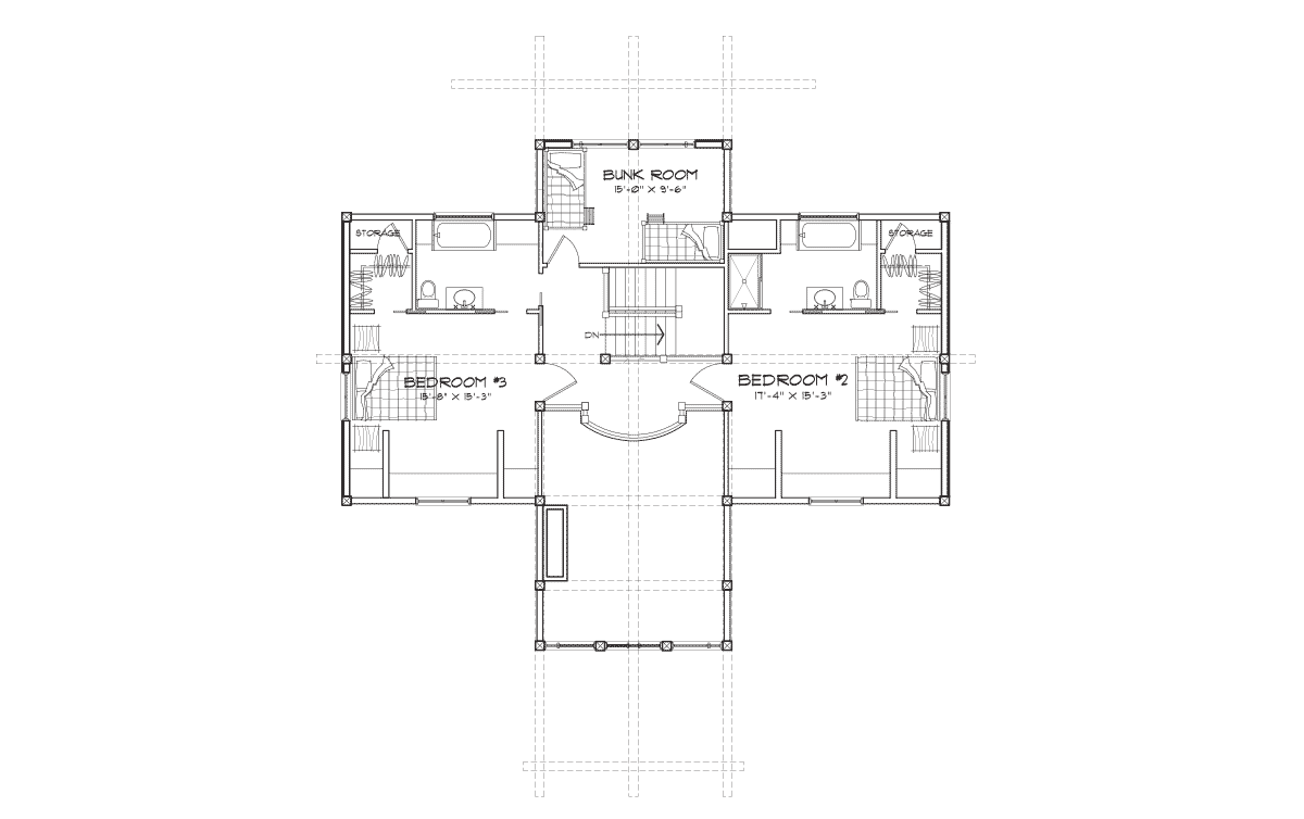 Hawksbury Second Floor Plan