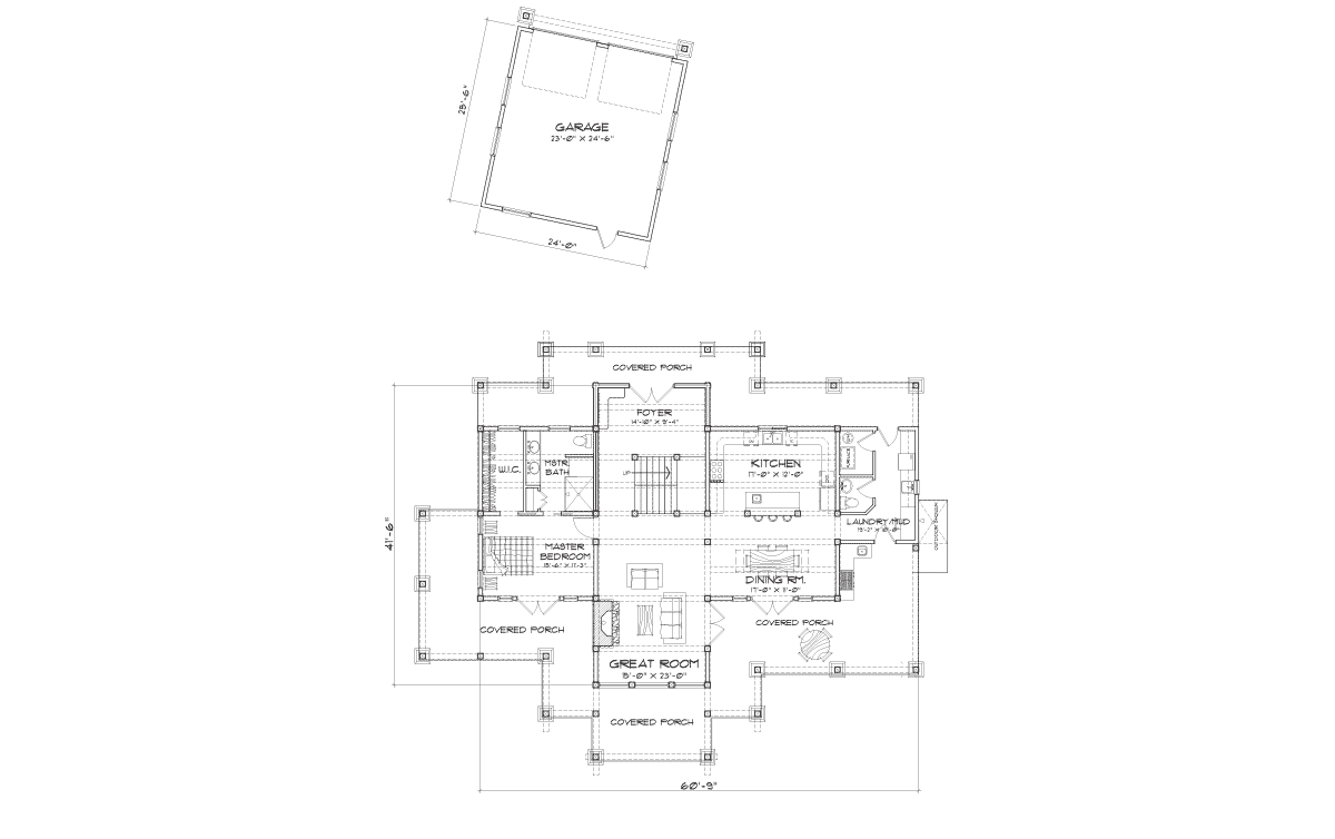 Hawksbury Main Floor Plan
