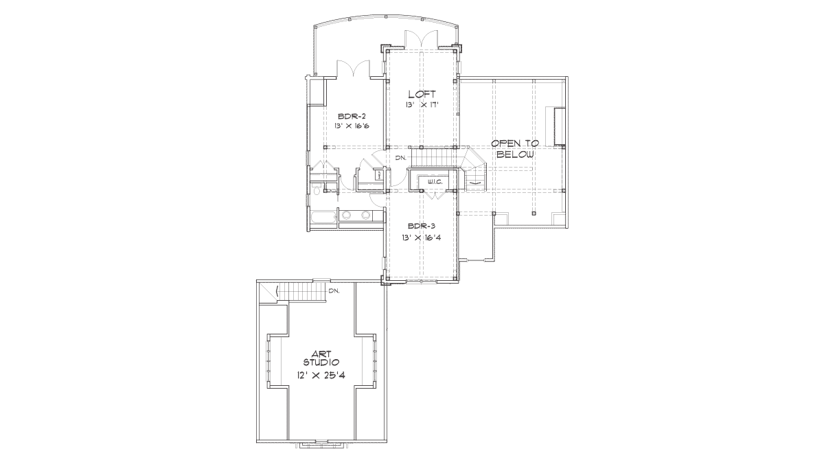 Hickory Falls Second Floor Plan