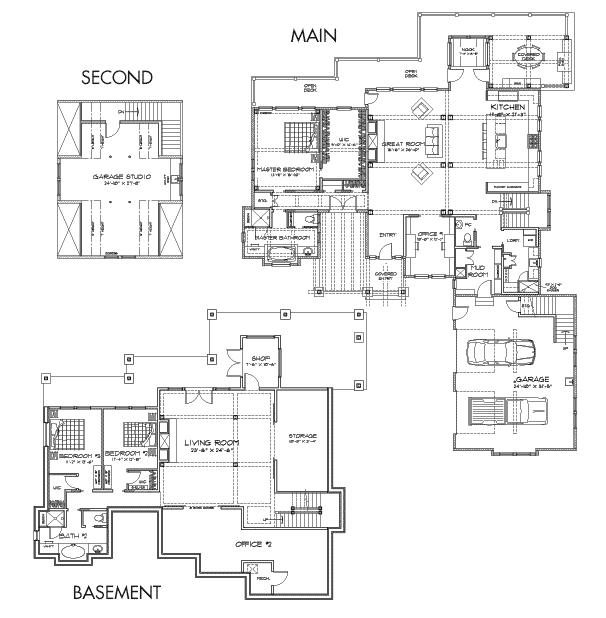 Hickory Falls Client Customization 2 Floor Plan