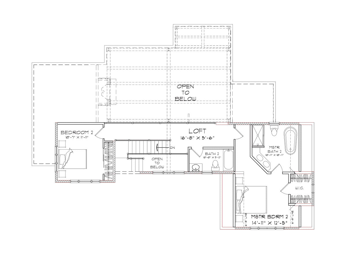 Holston Second Floor Plan