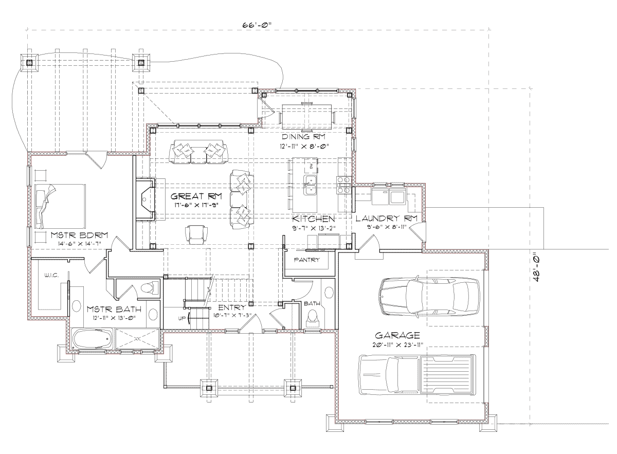 Holston  Main Floor Plan